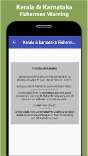 Kerala and Karnataka Fishermen Alert - náhled
