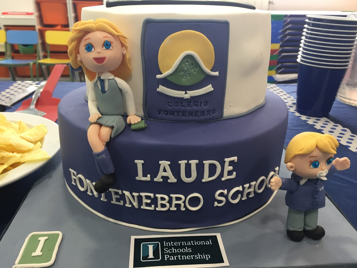 Tarta Inauguración colegio
