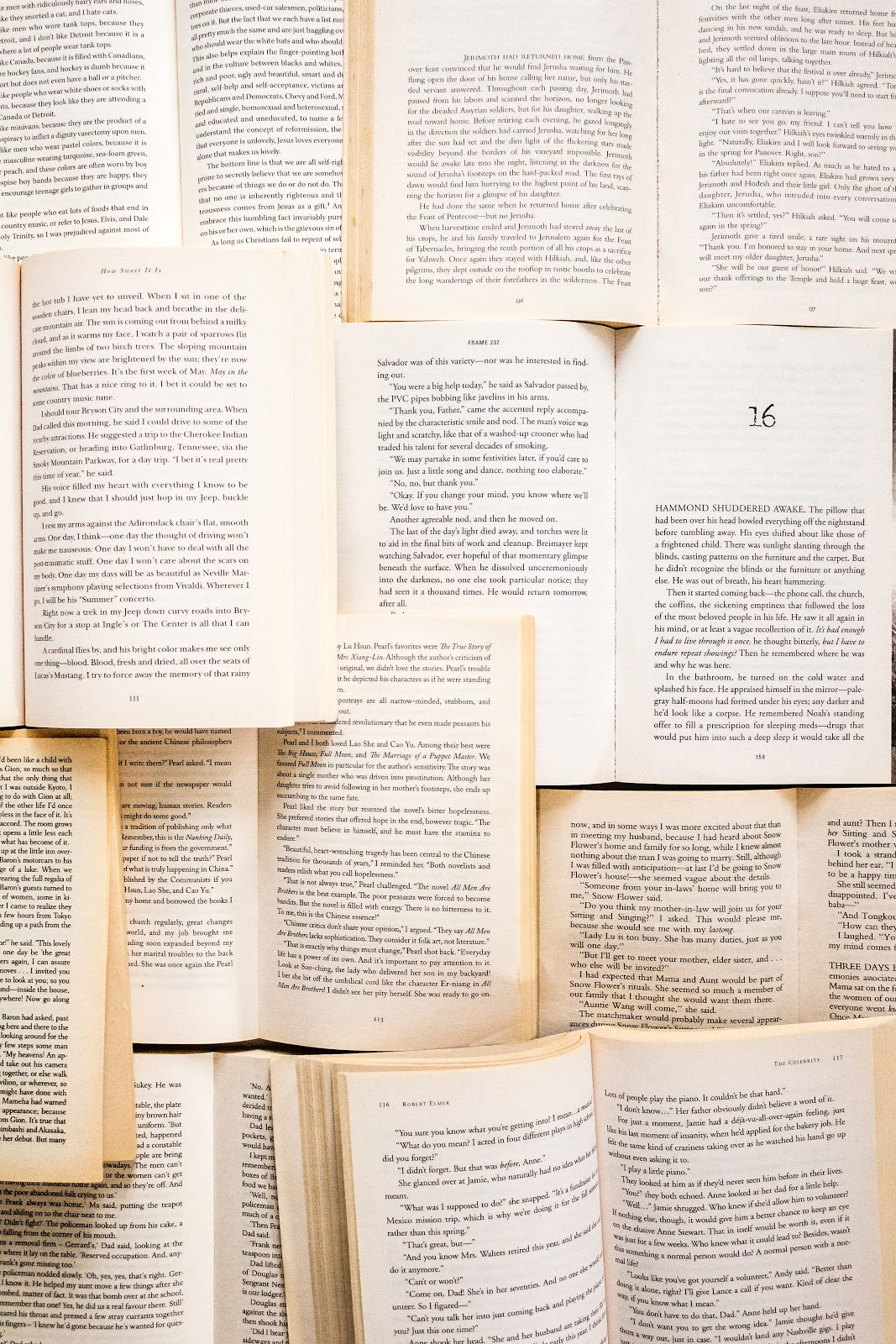 format the interior of a book