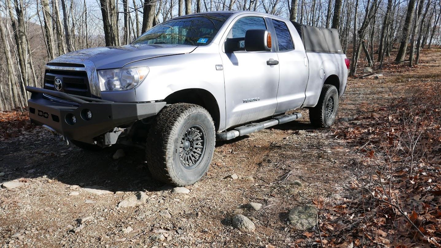 2010 Toyota Tundra Double Cab Offroad Bumpers Beadlocks