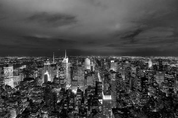 New York  by night di Andrea Izzotti