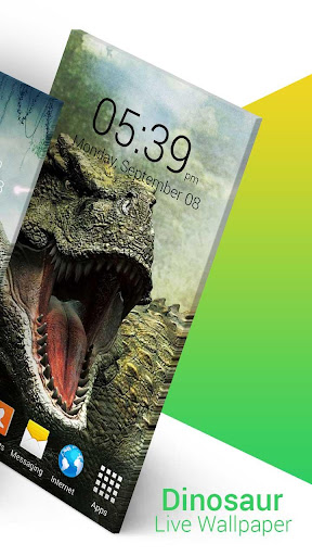 Dinosaur Live Wallpaper screenshot 2