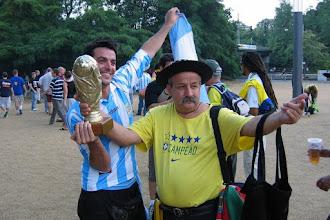 Photo: De strijd om de Wereldbeker is nu al losgebarsten.