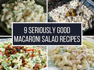 9 Seriously Good Macaroni Salad Recipes