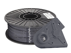 Jet Gray PRO Series PLA Filament - 2.85mm (1kg)