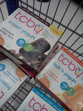 Photo: We loaded our buggy with one of each kind of TCBY frozen yogurt I think!  :)