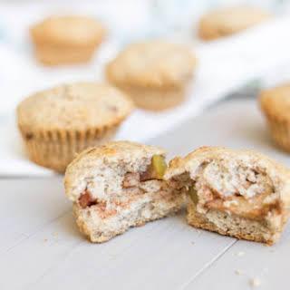 Cinnamon Apple Stuffed Cornbread Muffins.