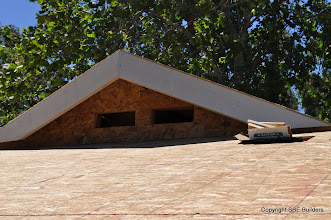 Photo: My prow rafter gable end.
