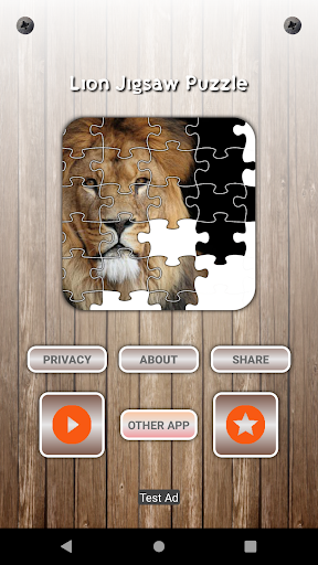 Lion Game Jigsaw Puzzle  screenshots 2