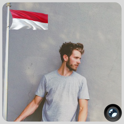 Indonesia Flag In Your picture : Photo Editor