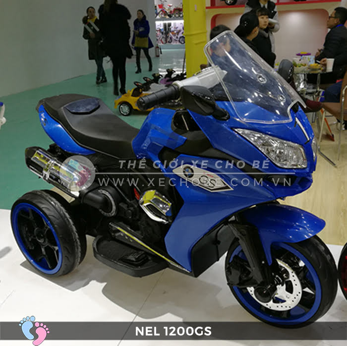 Moto điện 3 bánh cho bé NEL-1200GS 16