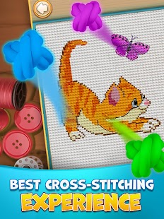 Cross Stitch Mania- screenshot thumbnail