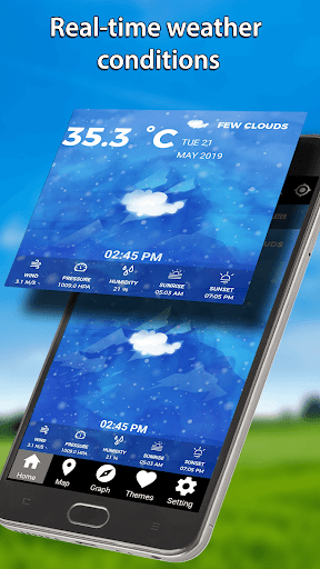 Screenshot for Local Weather Forecast Weather Channel Weather App in United States Play Store