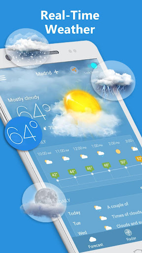 Weather Radar & Forecast 1.9.3 screenshots 2