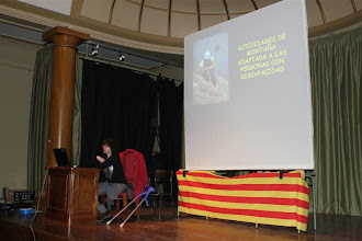 Photo: Charla de la deportista Pilar Rivarés
