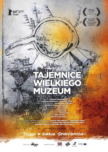 Polski plakat filmu 'Tajemnice Wielkiego Muzeum'