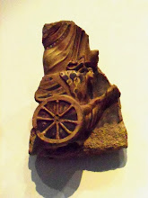 Photo: Terracotta Antefix of an Auriga on a chariot, 480 BC, Louvre