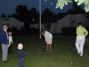Photo: Kilpailua elokuun illan hämärtyessä