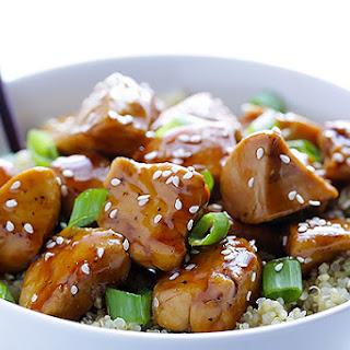 Sesame Chicken with Quinoa Recipe