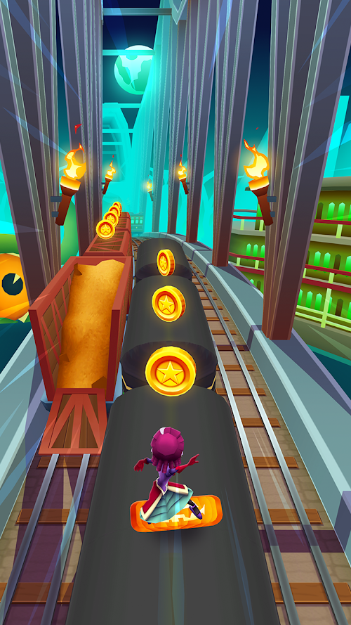 Screenshot 3 Subway Surfers 1.94.0 APK MOD