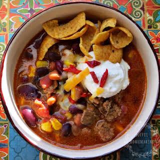 20 Minute Taco Soup.