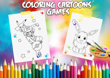 ? Coloring Pokemon Book Free - náhled