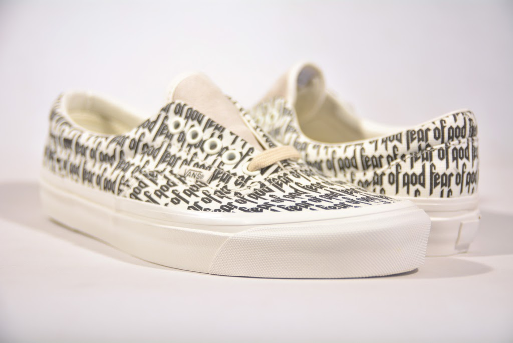 3757f135804 Details about BRAND NEW FEAR OF GOD VANS ERA 95 REISSUE PACSUN FOG WHITE  SIZE 5-10