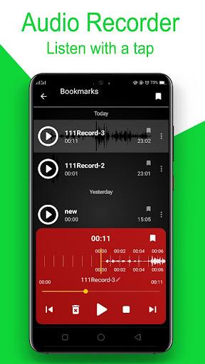 Audio Recorder screenshot 3