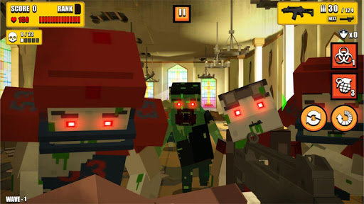 Pixel Zombie Hunter