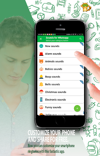 Sounds for Whatsapp - The Best Ringtones 2.0.2.0 screenshots 1