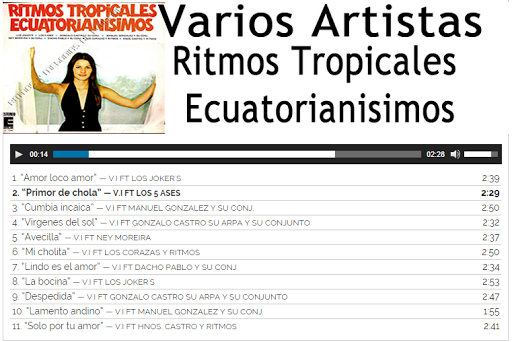 Musica latina del Ecuador