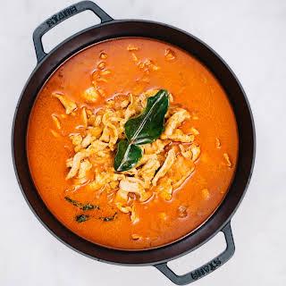 Quick Thai Panang Curry.