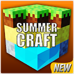 Summer Craft 3D : Building Simulator Icon