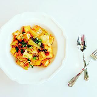Kimchi and Tofu Stir-fry
