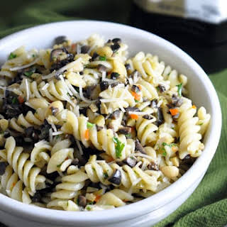 Olive and Pine Nut Pasta.