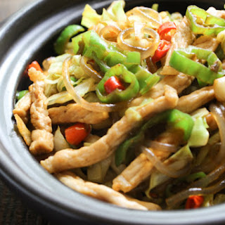 Tasty Stir-fried Glass Noodles