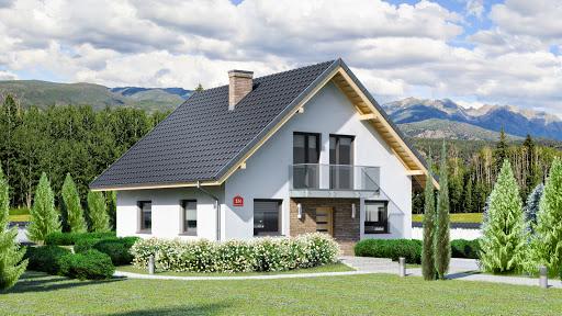 projekt Dom przy Oliwkowej N
