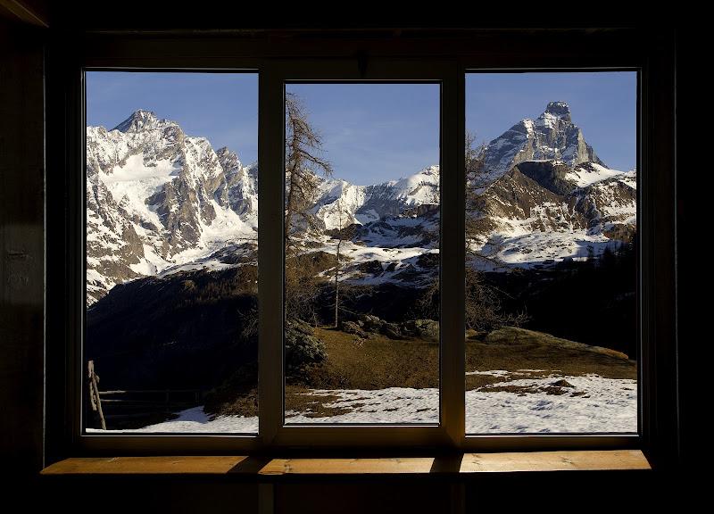 La finestra sul Cervino di Massimiliano_Montemagno