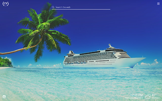 Cruise Vacations HD Wallpapers New Tab Theme