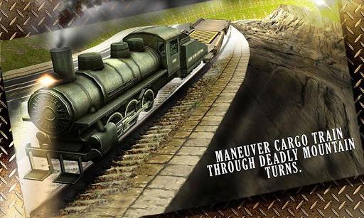 Cargo Train Hill Climb 3D Sim