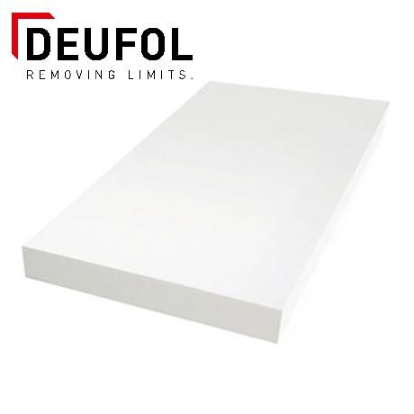 Polystyrene sheet 2000x1000x60 mm - white