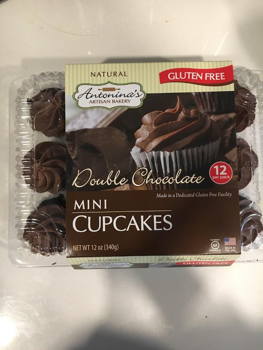 Mini Cupcakes, Double Chocolate