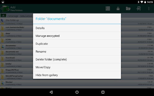 Encryption Manager- screenshot thumbnail
