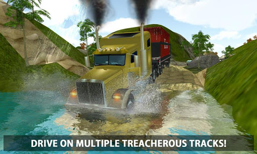 4x4 Logging Truck Real Driver
