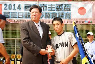 Photo: 競技組MVP 谷仁貴 (日本黑豹)
