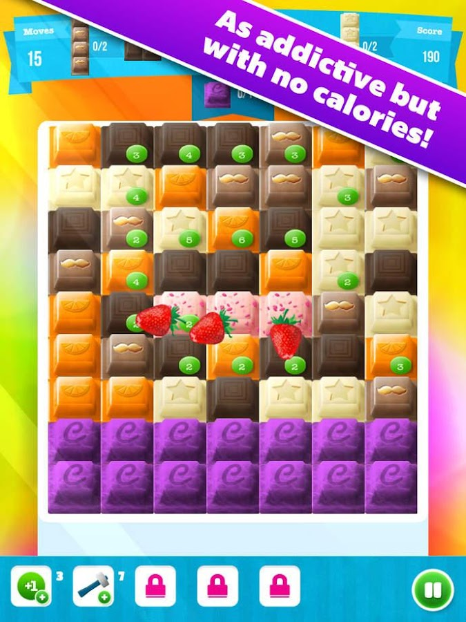 Choco Blocks- screenshot
