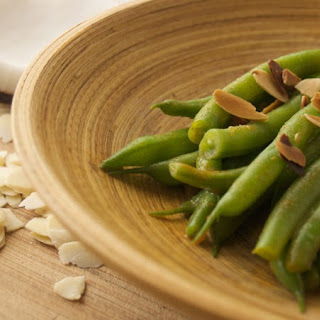 Coconut-Almond Green Beans