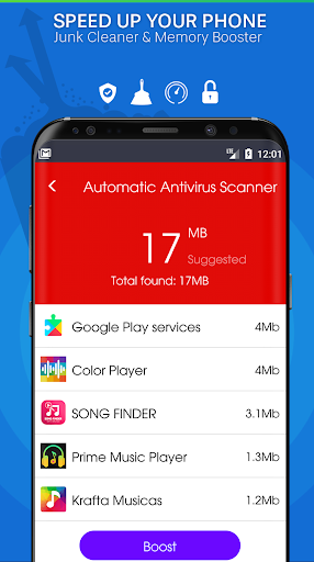 Download Automatic Virus Scanner - System & Apps Security