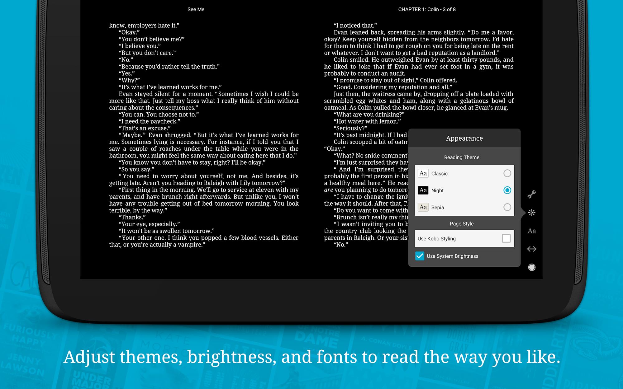 Kobo Books - Reading App screenshot #10