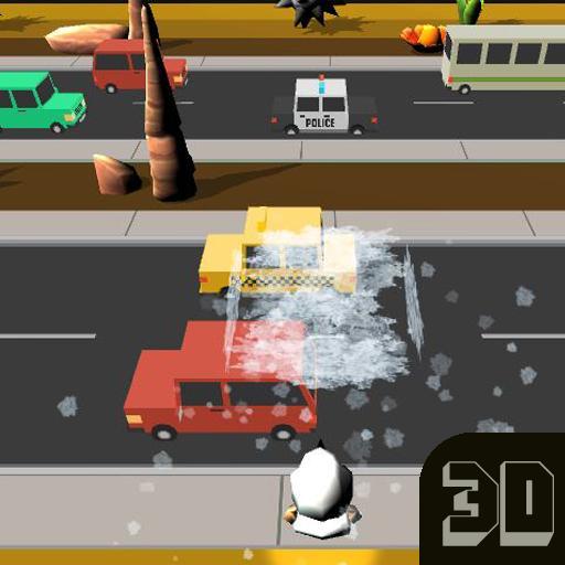 街机のクロスロード·ランナー3D LOGO-記事Game